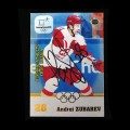 2018 AMPIR Olympic Games Hockey #OAR06 Andrei Zubarev (Olympic Athletes from RUSSIA) AUTOGRAPH #/10