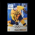 2018 AMPIR Olympic Games Hockey #SWE06 Patrik Hersley (Team Sweden) AUTOGRAPH #/10