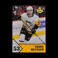 2019/20 AMPIR Hockey #TB-1 Teddy Blueger (Pittsburgh Penguins)