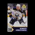 2019/20 AMPIR Hockey #ZG-1 Zemgus Girgensons (Buffalo Sabres)