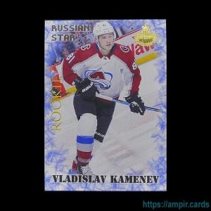 2019/20 AMPIR Russian Star #RC14-1 Vladislav Kamenev (Colorado Avalanche) RC