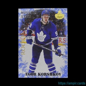 2019/20 AMPIR Hockey #RC18-2 Egor Korshkov (Toronto Maple Leafs) RC
