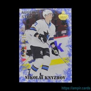 2019/20 AMPIR Russian Star #RC19-1 Nikolai Knyzhov (San Jose Sharks) RC