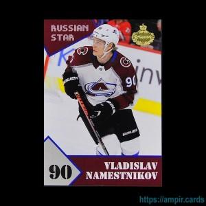 2019/20 AMPIR Russian Star #39-1 Vladislav Namestnikov (Colorado Avalanche)