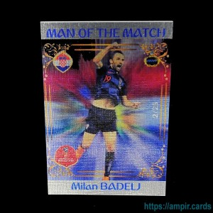2018 AMPIR FIFA World Cup Soccer #MM07 Milan BADELJ (Team Croatia) #/25