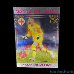 2018 AMPIR FIFA World Cup Soccer #MM12 Jordan PICKFORD (Team England) #/25