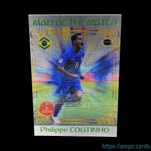 2018 AMPIR FIFA World Cup Soccer #MM18 Philippe COUTINHO (Team Brazil) #/25