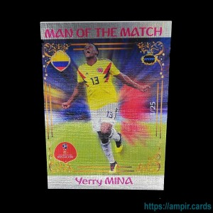 2018 AMPIR FIFA World Cup Soccer #MM24 Yerry MINA (Team Colombia) #/25