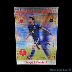2018 AMPIR FIFA World Cup Soccer #MM37 Yuya OSAKO (Team Japan) #/25
