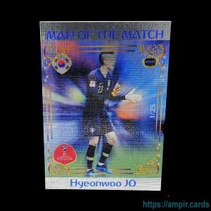 2018 AMPIR FIFA World Cup Soccer #MM44 Hyeonwoo JO (Team Korea Republic) #/25