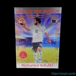 2018 AMPIR FIFA World Cup Soccer #MM46 Mohamed SALAH (Team Egypt) #/25