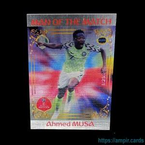 2018 AMPIR FIFA World Cup Soccer #MM50 Ahmed MUSA (Team Nigeria) #/25