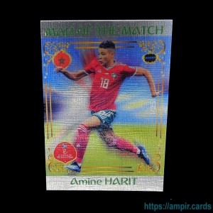 2018 AMPIR FIFA World Cup Soccer #MM51 Amine HARIT (Team Morocco) #/25