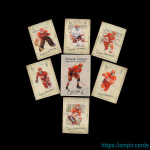 2020 AMPIR Legends Hockey Serie #1 (27 cards)