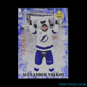 2019/20 AMPIR Russian Star #RC20 Alexander Volkov (Tampa Bay Lightning) RC